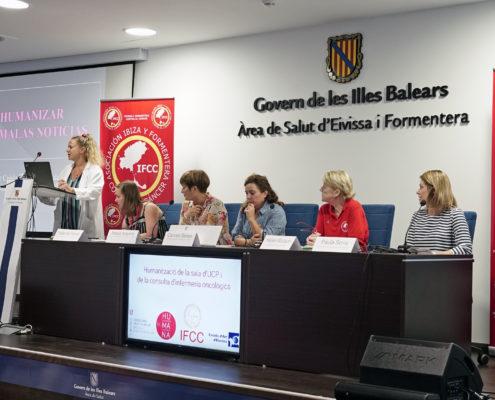 El área de salud de Ibiza y Formentera humaniza la sala de información de paliativos y la consulta de enfermería de oncología