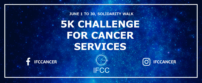 5K challenge for cancer services - IFCC
